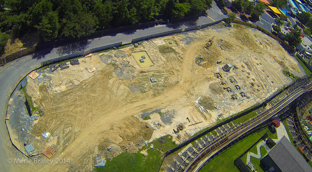 Carowinds Fury 325 Construction